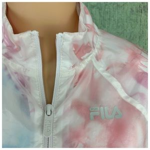 FILA Sport Performance Rain Wind Jacket Size XS